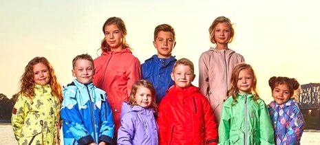 Детская весенняя одежда